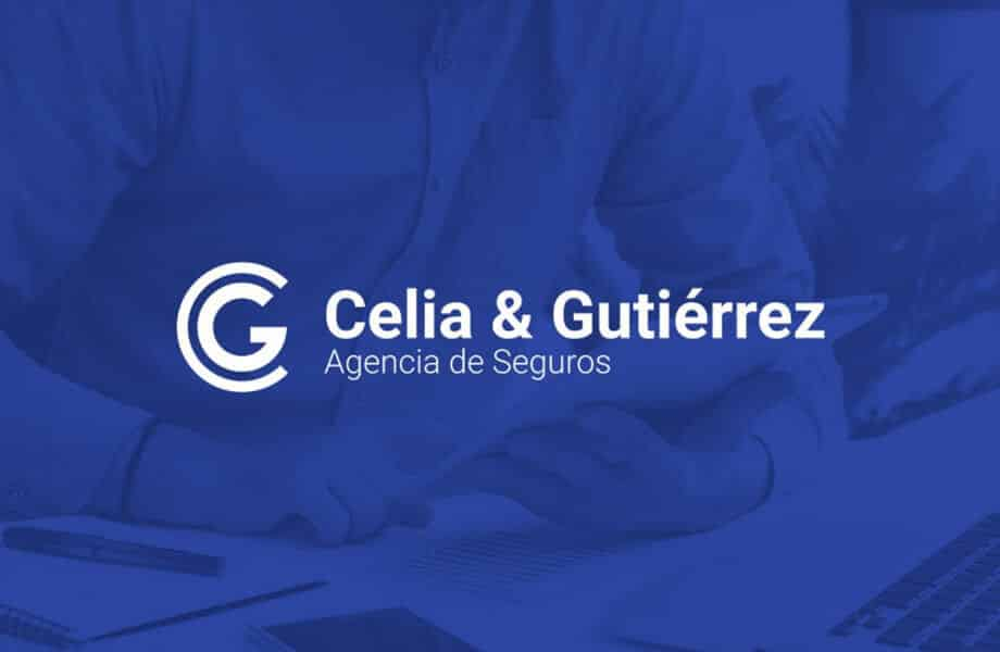 Imagen corporativa para Celia & Gutiérrez