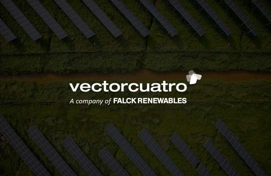 Página web para Vector Cuatro Group