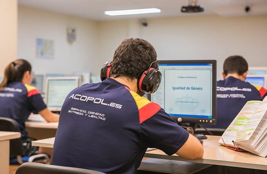 Tienda Online para Academia de Policia Nacional Acopol