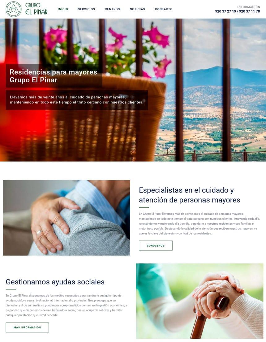 Residencias para Mayores en Ávila Grupo El Pinar