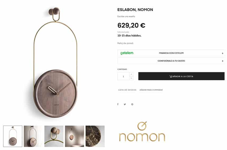 Tienda Online de interiorismo y arte para SVK
